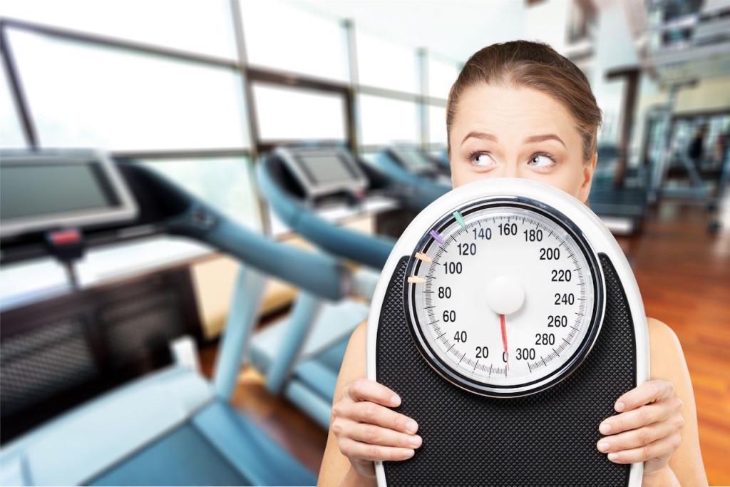 время похудения