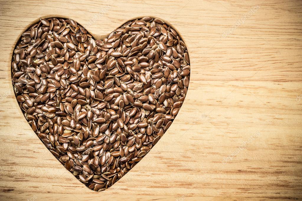 семя льна для сердца