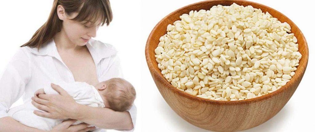 кунжут полезен для матерей