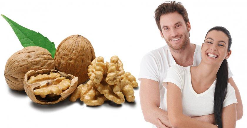 грецкий орех для потенции