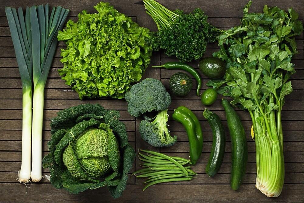 зелень для костей
