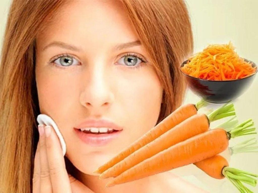 морковь для кожи