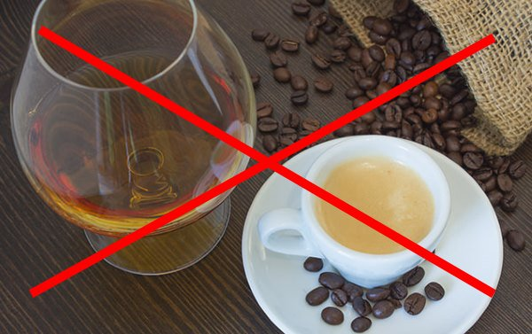 незя кофе и алкоголь с креатином